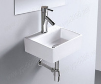 Free drains free shipping 7879 Ceramic Rectangular Counter top Cabinet Basin Bathroom Sink
