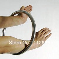 [Maria's] Wing Chun Chi Sau Sticky Hand Strength Training Stainless Steel Rattan Ring Wing Tsun Ring 9 inch