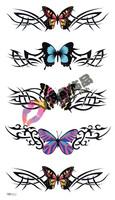 Waterproof tattoo stickers Women tattoo stickers butterfly hm322