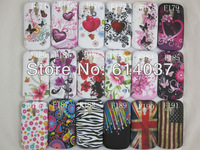 1pc For Sample  New Flower butterfly heart flag soft tpu Back Case Cover For Samsung Galaxy S Duos s7562,free shipping
