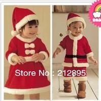 2013  New desin  Christmas baby dress