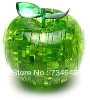 3D Apple Crystal Jigsaw Puzzle 44 Pcs