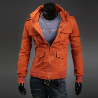 Free shipping wholesale 2013 spring new arrival mens fashion jacket ,jacket for men