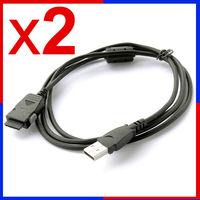 USB Data Charger Cable For Samsung YP-P2 YP P3 K5 S3 S5 Q1 Q2 T9 R1 S5JQB T10 U10 MP4 MP3 Player Hotsync / Charging Cord Lead