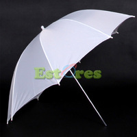 "2pcs 33"" Studio Flash Light Reflector Flash diffuser White Umbrella New with tracking number"