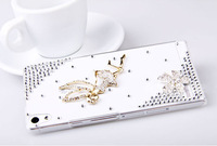 New Flying Girl Little Angel Rhinestone For HUAWEI Ascend P6 Phone Case Mobile Phone Case Protective Shell