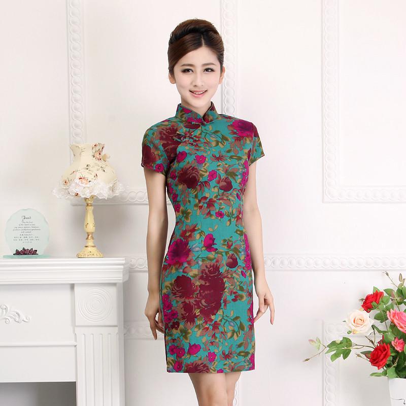 Платья В Китайском Стиле Купить В Спб