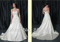 Free shipping best selling 100% Guarantee 2013 Wedding Dresses any size/color wedding dressWD902
