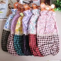 Winter women's design long sleeve plaid cotton 100%