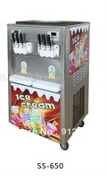 6 heads industrial ice cream machine, 4+2 flavor ice cream maker