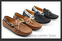 Free shipping new 2013 fashion men's gommini loafers daily casual sneakers genuine leather boat shoes size38-44