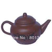 Sales and Promotion! Chinese Yixing Zisha Hu Purple Clay Chameleon Purple Sands Handmade Teapot