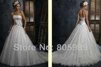Free shipping best selling 100% Guarantee 2013 Wedding Dresses any size/color wedding dressWD918