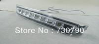 free shipping, Excellent KIA K2 / 2012 KIA new RIO daytime running light, Ultra-bright 9 LEDs DRL