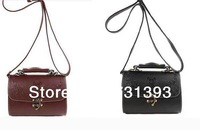 Retro Handbag Tote Shoulder Bag Embossing Faux Leather Cross Body Shoulder Bag 260