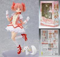 Free Shipping Anime Madoka Kaname #110 Puella Magi Madoka Magica Gril Action PVC Figure 12cm height toys New