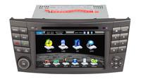 Mercedes Benz W211 car dvd player E Class Benz W211 car dvd 2005-2010 support GPS Navigation Bluetooth Stereo free 4g map card