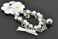 2013 new DESIGN pearl LADY BRACELET with logo box u.s.a free ships