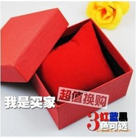 Free shipping Elegant pure color watch box nonpareil box for watch Wholesale