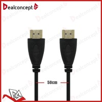 2013 New 1.5FT 0.5M Premium Ultra High Speed HDMI Cable Male to Male DHL free shipping 200pcs/lot