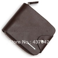 Free shipping/men wallet//mw003/Genuine leather/fashion purse/retail or wholesale