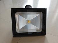 led flood light sensor 50w PIR led floodlight CE Rohs Certificated Fedex Freeshipping wholesale promotion new AC85-265V