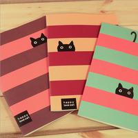 Korea stationery happy love cat 16k diary Large notebook tsmip