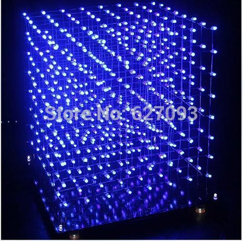 3D8S из светодиодов свет куб