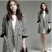 High quality han edition plover madame long-sleeved no buckle cloth coat