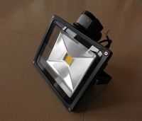 led flood light 20w PIR led floodlight led flood light sensor CE Rohs Certificated Freeshipping wholesale promotion new 12pcs