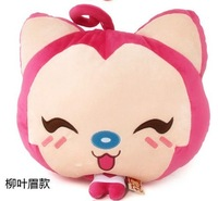 Hot-selling christmas gift hyraxes pillow cushion doll car lumbar support cushion hand warmer