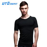 Uto 13 coolmax seamless sports male quick-drying t-shirt super sweat absorbing short-sleeve T-shirt 94103
