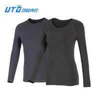 Uto outdoor function underwear hydroscopic thickening thermal underwear top