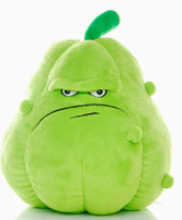 Free Shipping 25cm High quality PP cotton squash in Plants vs zombies, Lovely squash plush toys for children
