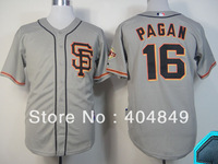 AA+ 16 multiple Angel Pagan jersey,new Giants home cream gray gold orange camo authentic,custom youth women baseball