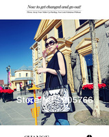 2013 Asia popular fashion lady women print Day clutches wallet shoulder handbags Free shipping one-pcs sell