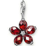 Ts thomas multicolour crystal flower pendant 2