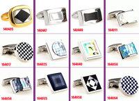 Wholesale 40pcs/lot free shipping classical cufflinks for mens wedding Cufflinks Novelty Cuff link Can be mixed batch Cufflink