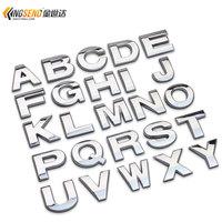 Car letter stickers digital car accessories,auto supplier