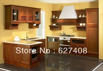 Solid wood kitchen