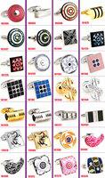 Wholesale 40pcs/lot fashion  cufflinks for mens wedding Cufflinks Novelty Cuff link Can be mixed batch Cufflink
