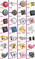 Wholesale 40pcs/lot fashion  cufflinks for mens wedding Cufflinks Novelty Cuff link Can be mixed batch Cufflink