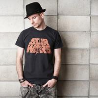 HOT SELL Fashion brief black fashion slim t-shirt fashion o-neck short-sleeve T-shirt men's