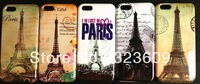 1PCS free shipping New arrivals New products High quality Fashion Retro Paris Eiffel Tower Hard Case for iphone 5C