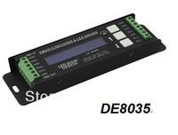 Free shippingHot selling!2013 new  DMX512 Decoder dmx controller led driver RGB led controller DC12-24V  DE8035