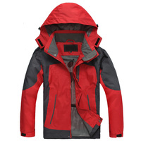 2013 Winter Autumn Men's Outdoor Jackets Men Skiing Hiking Climbing Sport Jacket waterproof windproof coat L XL XXL XXXL 4XL 5XL