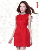 8022 autumn ladies one-piece dress small formal dress fashion high quality married the bride evening dress