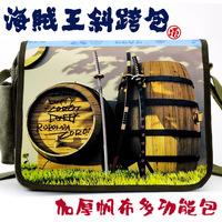 Messenger bag school bag canvas bag shoulder bag casual bag knife