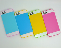 Double Layer TPU PC Case Cover For iphone 5C, Removable And Seperated Design, Accurate Holes, Wear-Resisting, Anti-Crashed