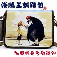 Messenger bag school bag canvas bag shoulder bag casual strawhat red small luffy